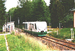 Regiosprinter in Irfersgrün